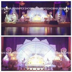 Half Round Panel Wedding Stage