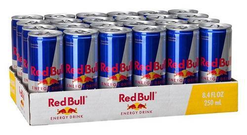 red bull bulk delivery driver