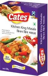 Cates Kitchen King Masala, 100g