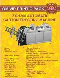 ZX-1200 AUTOMATIC CARTON ERECTING MACHINE
