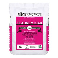 ARDEX ENDURA PLATINUM STAR White Cement Based Tile And Stone Adhesive, Thickness: Upto 6 Mm (bed)