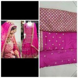Pink Sharara Suits