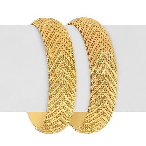 HQ Diamonds Designer Gold Bangle