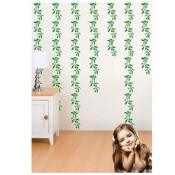 Royal Pattern Vinyl Hanging Leaves Border, for Home