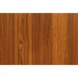 Dark Brown Teak Veneer Plywood