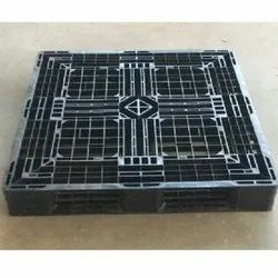 Heavy Duty Injection Molded Plastic Pallet for Export