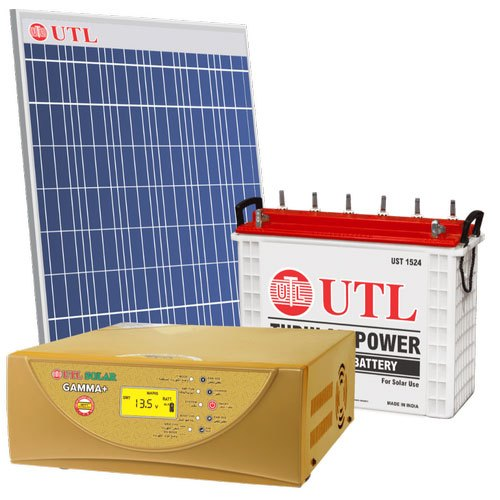 Off Grid Utl Solar Power System With Battery Rs 75000 Unit P S Sales Id 21000168048