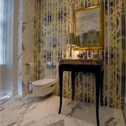 Virtuoso Inc Glass Gloss Mosaic Bathroom Design, Thickness: 6 - 8 Mm