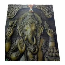 Ganesha Printed Wall Tile