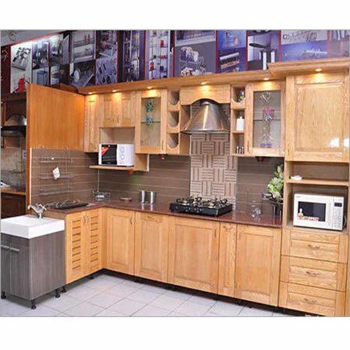 Modular Kitchen Size: Plywood Modular Kitchen At Rs 900 /square Feet