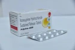 Isoxsuprine Hydrochloride Sustained Release Tablets