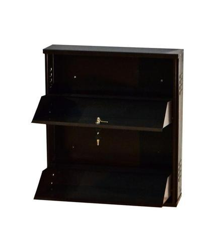2 Door Wall Mounted Shoe Rack