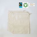 organic cotton muslin bag