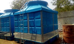 Cuboid Shaped FRP Cooling Towers