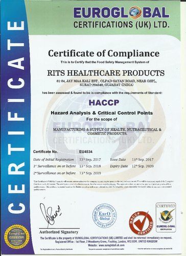 RITS Health Care Products - Retail Merchants from Olpad, Surat