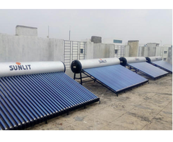 Evacuated Tube Domestic Solar Water Heater