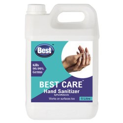 Alcohol Based Hand Rub/ Sanitizer By Pure Naturals, Packaging Type : Can, Pack Size : 5 Ltr Can