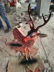 FRP Deer Statue (Code A-4c)