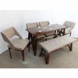 Rectangular Designer Wooden Coffee Table Set