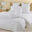 Satin Strip Bed Sheet
