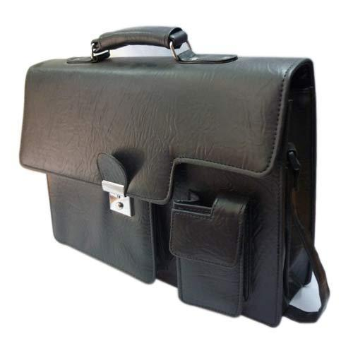 881924c7c1cb Black Plain File Bag