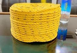 Yellow Heavy Duty Rope, For Industrial, Length: 100-200 m/reel