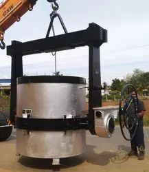 Bottom Pouring Ladle - Capacity 10 MT