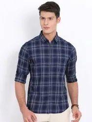 kavya Collar Neck Mens Cotton Shirts