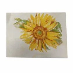Flower Print Duni Napkin, Features: Disposable, Size: 12x16 Inch