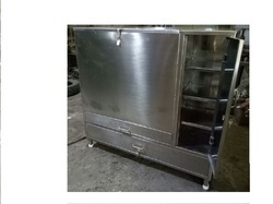 Stainless Steel Sifter Sieves Trolley