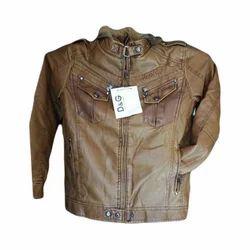 3679a08d5 Regular Fit Men Fancy Leather Jacket, N.H. Fashion | ID: 19174192097