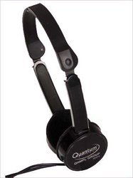 Quantum Foldable Wired Headphone, Light 50gm, Model Name/Number: QHM485