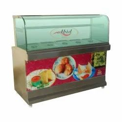S.S Stainless Steel Snack Counter, For Commercial