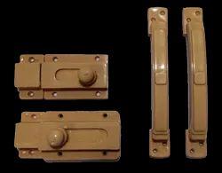 Brown PVC Hardware, For Door Lock