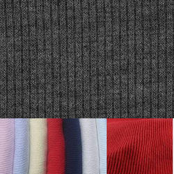 6c534973ded Plain And Printed Multi Rib Cotton Lycra Fabric 2/1 & 1/1,