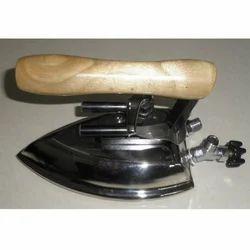 Wooden Handle Steam Iron