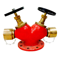 Double Headed Gun Metal Hydrant Valve