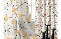 Polyester Sheer Embroidery Curtains