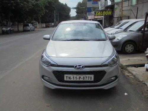 Silver Hyundai I20 2015 2017 Sportz Option 12 Petrol Used Car