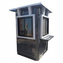 FRP Security Cabin (Plain Roof)