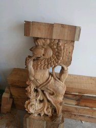 Plywood God Statue
