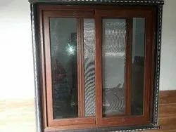Domal Wooden Coating Window