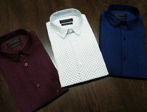 bb0239fb95 Varities Of Color Cotton Zara Men Shirt, Wear Your Honour   ID ...
