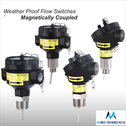 Magnetically Coupled Paddle Type Flow Switches