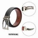 RLR Pentaflore Leather Belt
