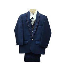 Kids Blue Coat Suit