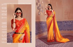 Fabric Silk Touch Designer Saree