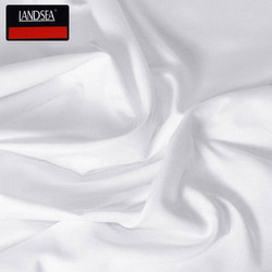 White  Plain Georgette Silk Fabric