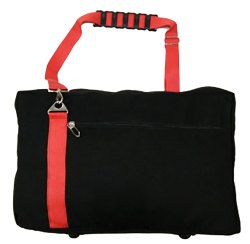 Black Canvas Travel Bag