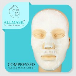 Viscose Compressed Facial Mask Sheet